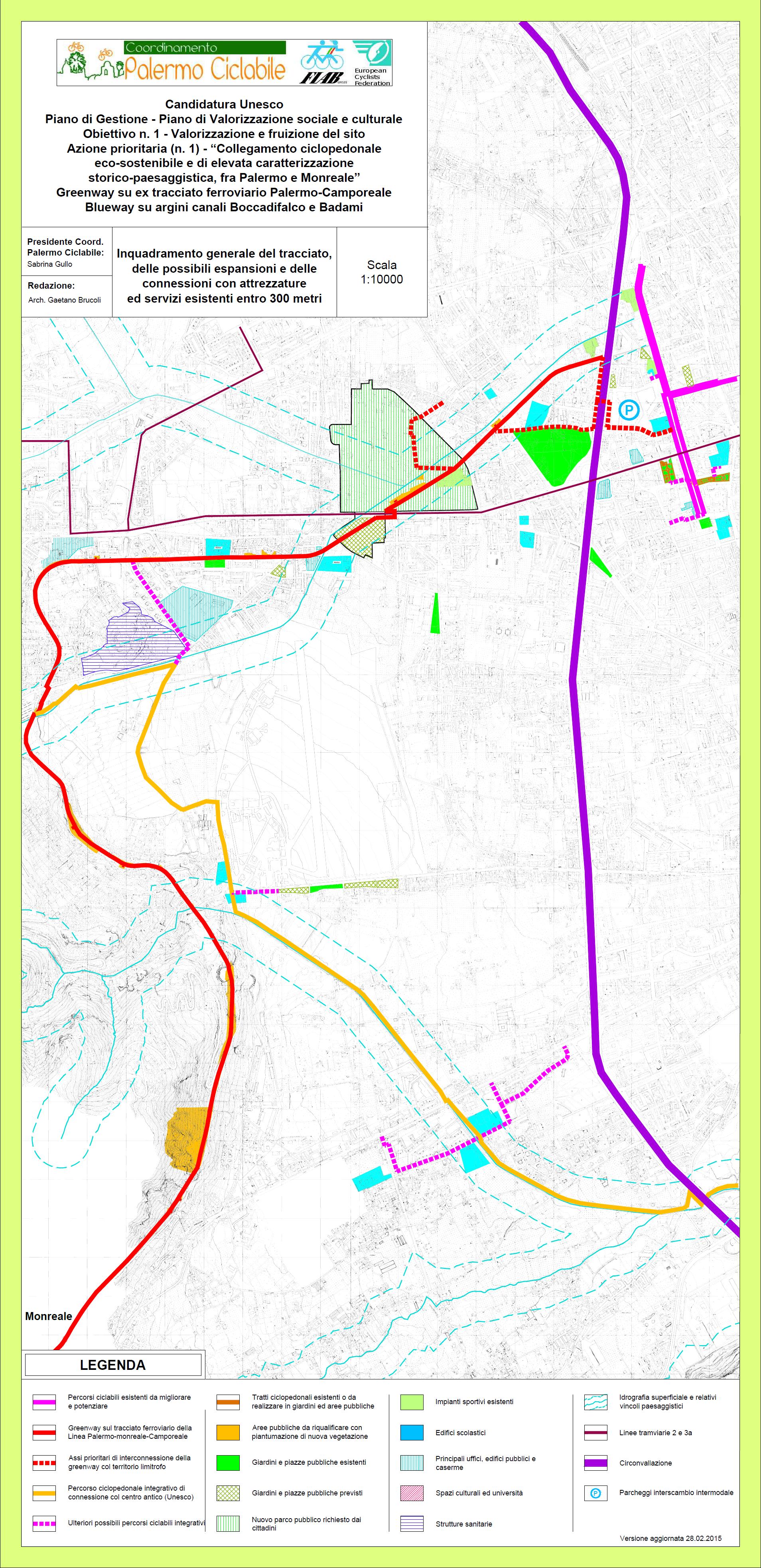 Unesco - Greenwau-blueway aggiornamento 28.02.2015